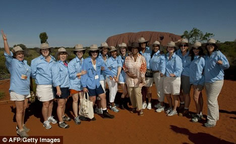Destination Management for Uluru audience