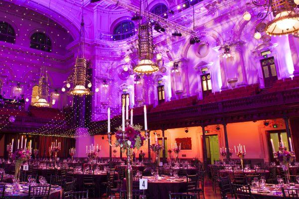 corporate event set-up photo