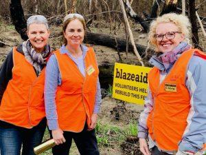 Volunteering at BlazeAid Braidwood